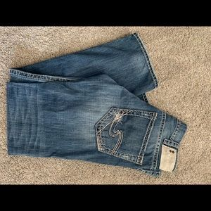 Levi's Silver Jeans